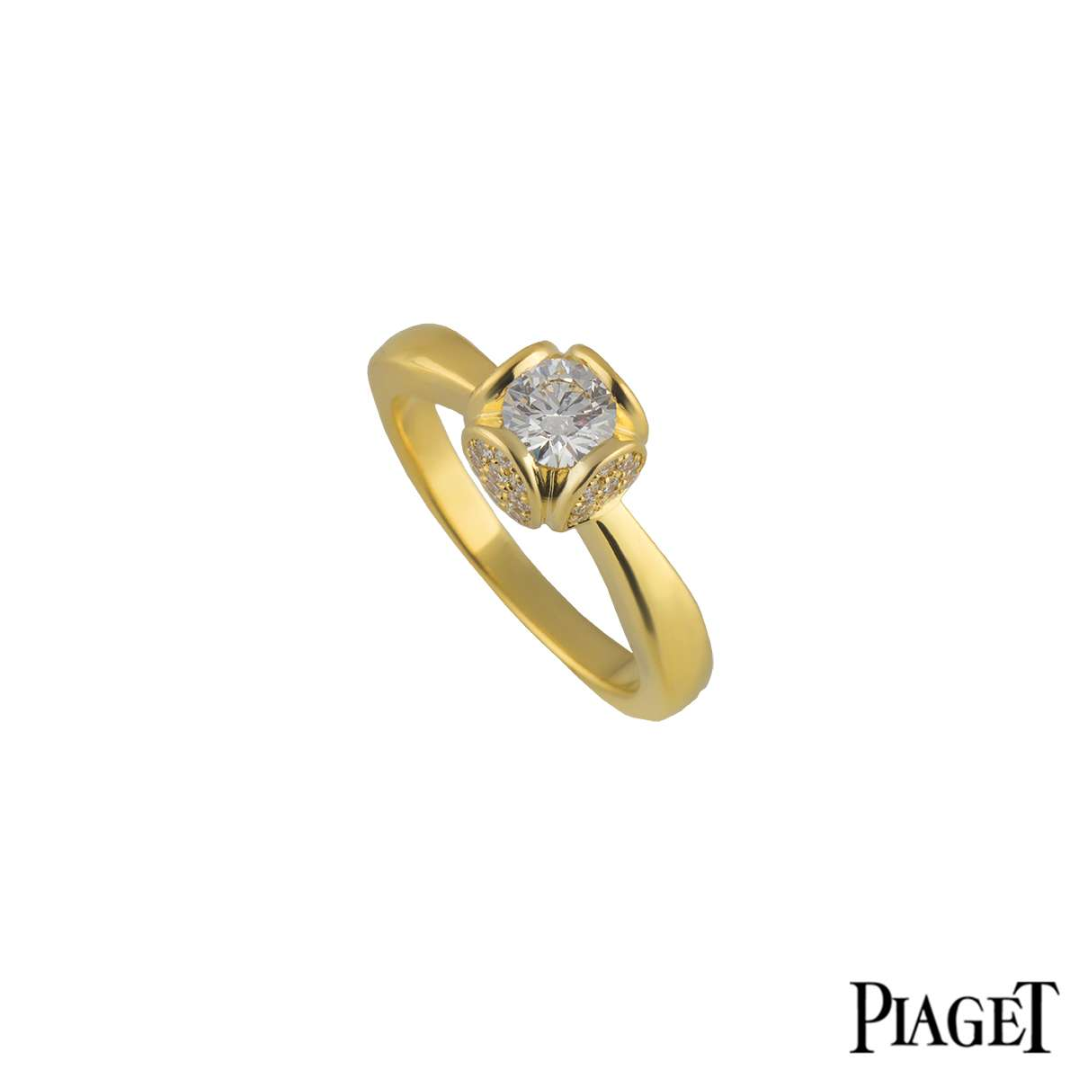 Piaget 18k Yellow Gold Engagement Ring